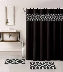 bathroom shower curtain sets amazon com