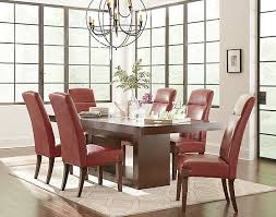 Red Leather Kitchen Chairs - try this trend colorful dining chairs u2013 art van blog we u0027ve got