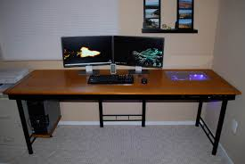 Computer Desk Wood Custom Computer Desk Wood New Furniture