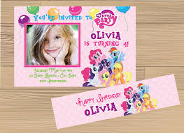 top 14 my little pony birthday party invitations theruntime com