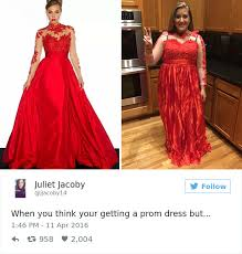 teens are sharing prom dresses they regret buying online and it u0027s