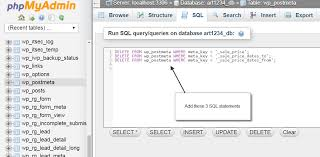 Delete From Table Sql Remove All Woocommerce Sale Prices At Once Web Design 101