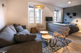 Architecte Petite Surface Rénovation Et Décoration D U0026 039 Un Studio De 30m2 à Neuilly Sur