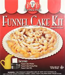 amazon com fun pack foods funnel cake mix funnel cake maker