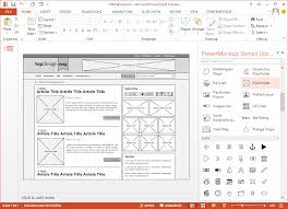 download wireframe storyboard temlate free powerpoint storyboard