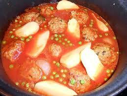 cuisiner des petit pois surgel recette de boulettes kefta aux petits pois pommes de terre