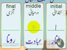 urdu letter alf ا haroof e tahaji part 1 youtube