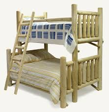 Log Bunk Bed Plans Log Bunk Beds Bunkbeds Made Out Of Cedar Logs