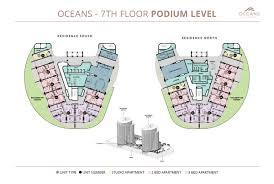 Podium Floor Plan by Oceans Umhlanga