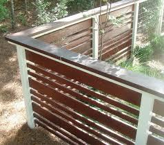 Backyard Fences Ideas by 209 Best Horizontal Fence Images On Pinterest Horizontal Fence