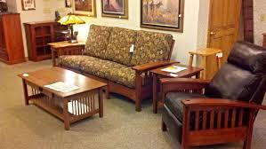 binghamton furniture mission sofa u0026 recliner