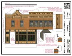 Coffee Shop Floor Plans Free Printable Ho Scale Model Train Set Railroad Coffee Shops