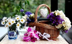 flower basket flower basket wallpaper photography wallpapers 17984