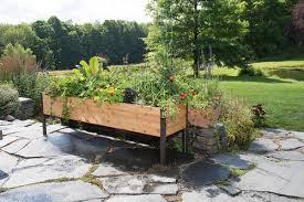 2 u0027x8 u0027 elevated cedar planter box national garden bureau