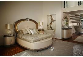 Jane Seymour Furniture Collection Hollywood Swank Overture Bedroom Set Collection Creamy Pearl Finish