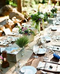 table settings and a recipe garden home