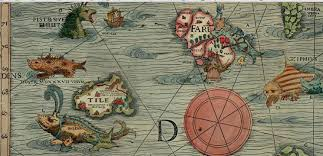 World Map With Seas by Old World Map With Sea Monsters Google Search What Beautiful