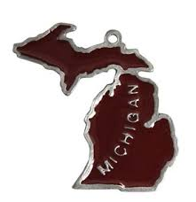 state shaped ornaments custom imprinted with your logo