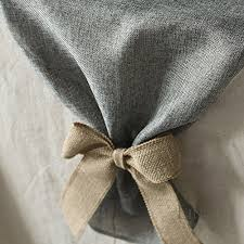 grey table runner wedding ling s moment gray burlap table runner 14 x 132 inch with bow ties