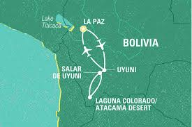 La Paz Mexico Map by Bolivian Salt Flats U0026 Desert Extension Bolivia Tours Geckos