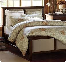 Pottery Barn Chesterfield Bed Awesome Pottery Barn Headboard On Chesterfield Upholstered Bed