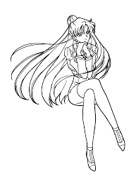 coloring page sailormoon coloring pages 116