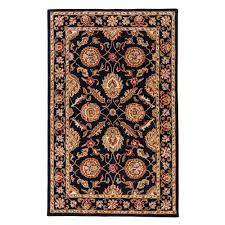 Jaipur Area Rugs Jaipur Rugs Jet Black 2 Ft 6 In X 4 Ft Area Rug