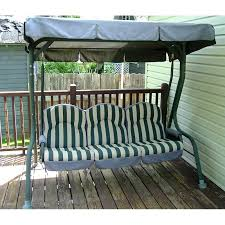 Swings For Patios With Canopy Walmart Royal Deluxe Rus4116 Replacement Swing Canopy Outdoor