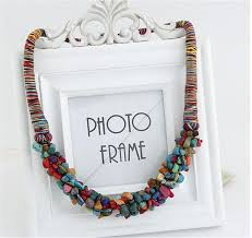 boho stone necklace images Boho stone necklace boho boutique jpg