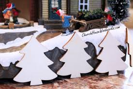 christmas tree ornaments miniatures diy christmas village supplies