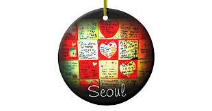 south korea ornaments keepsake ornaments zazzle