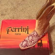 ferrini s boots size 11 33 ferrini shoes ferrini s toe boots from