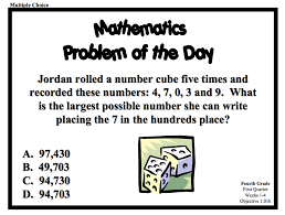 5th grade math problem solving a series of problem of the day resources for grade 4