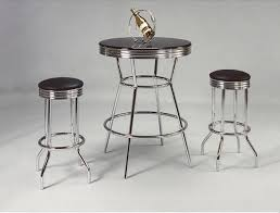 Retro Bar Table Retro Bar Table W 2 Chairs Katy Furniture