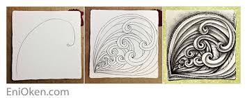 zentangle pattern trio trio family enioken com