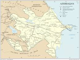 Rail Map Of Europe by Maps Of Azerbaijan And The Caucasus Azerb Com