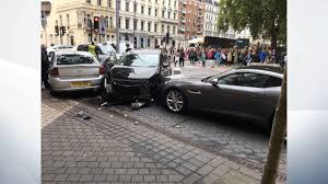 maserati museum man released after car mounts pavement near london u0027s natural