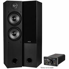 home theater systems with amplifier tower speaker pair t652 and dta 120 stereo amp bundle