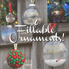 doodlecraft 6 fillable ornaments for