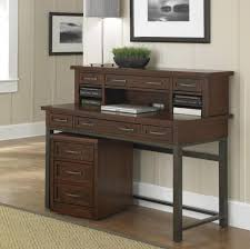 Small Wood Desk Small Wood Desk With Drawers Rustic Home Office Furniture