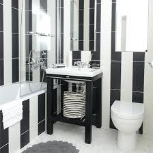 black white bathroom ideas black and white bathroom tiles irrr info