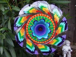 Ceramic Garden Art Rainbow Flower Garden Stock Photography Image 11222052