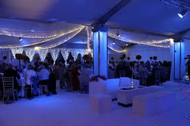 Ceiling Drapes With Fairy Lights Venue Draping More Weddings