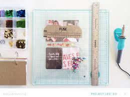we r memory keepers albums tips and tricks to use the fuse tracy studio calico