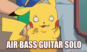 Pikachu Memes - pikachu bass guitar solo pok礬mon know your meme