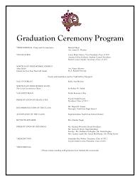 ceremony programs template preschool graduation program templates paso evolist co