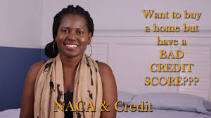 buying a house with bad credit naca home buying process perfect