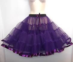 purple tulle new purple 23 net tulle 1950s pinup rockabilly vtg petticoat