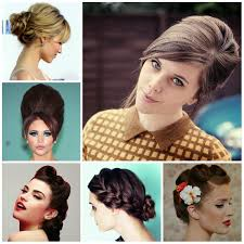 vintage updo hairstyles for long hair women medium haircut