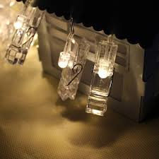 string lights with clips string lights with picture clips beautiful gold foil string lights